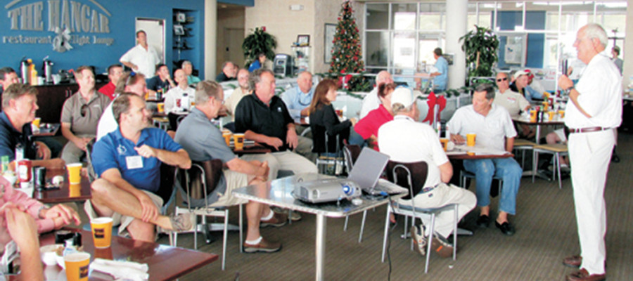 Manasota/Tampa Bay Region Industry Breakfast at St. Petersburg Power and Sailboat Show