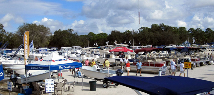 THE 14th ANNUAL CHARLOTTE COUNTY BOAT SHOW JANUARY 15-18, 2015