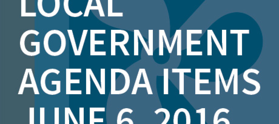 SWFMIA local government agenda items for the week of June 6, 2016