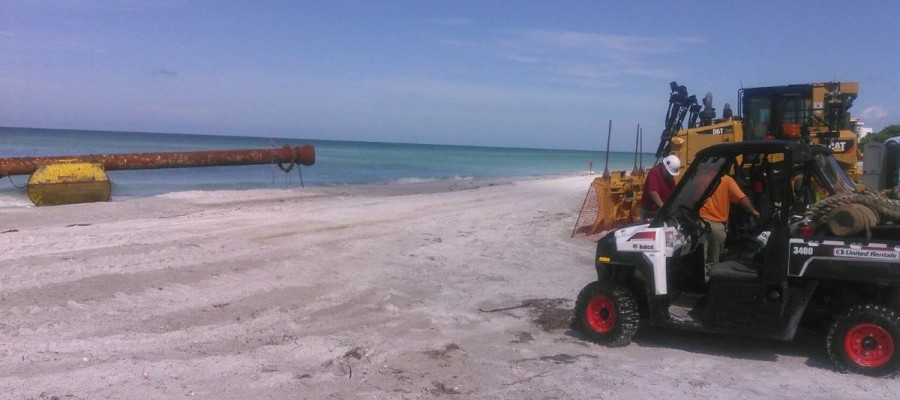 Longboat Key dredging to begin to repair eroded beaches