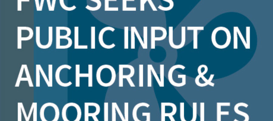 FWC seeks public input on anchoring and mooring rules, pilot program