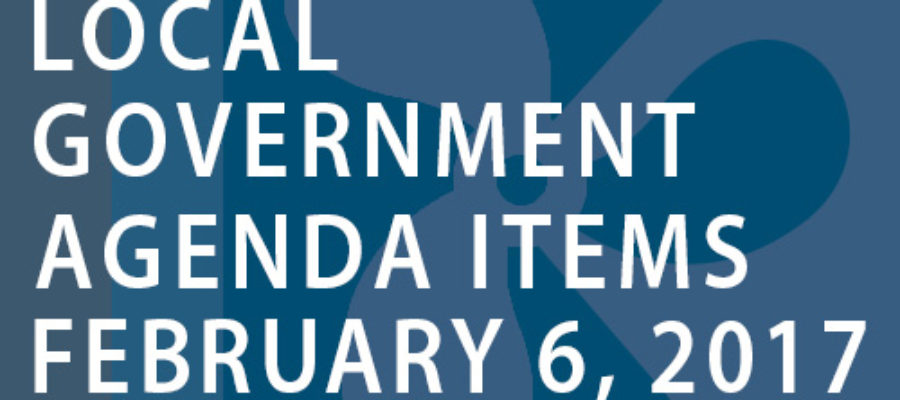 SWFMIA local government agenda items for the week of February 6, 2017
