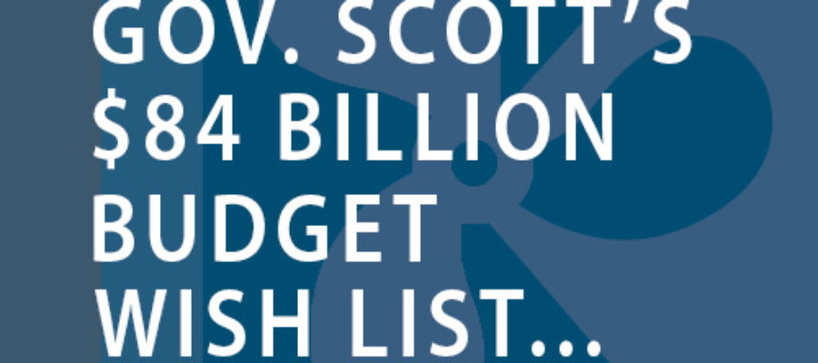 Scott's $84 billion budget wish list marks clear battle lines with House, Senate leaders