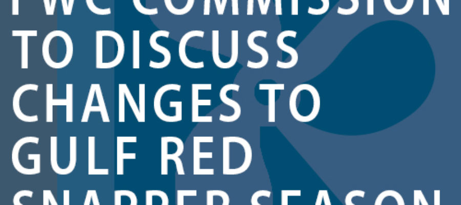 FWC Commission to discuss changes to Gulf red snapper season during special meeting Friday June 9
