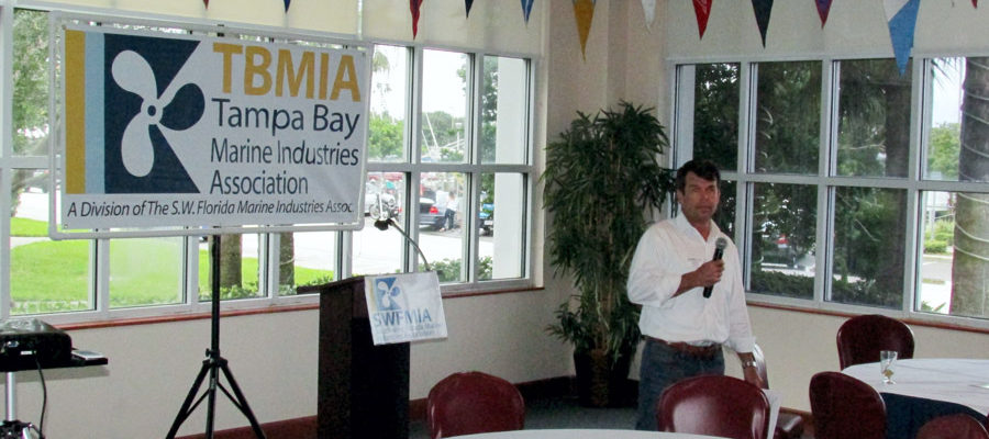 TBMIA Enjoys Well Attended Happy Hour at St. Pete Yacht Club