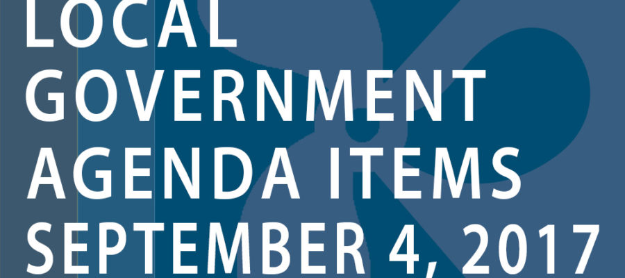 SWFMIA local government agenda items for the week of September 4, 2017
