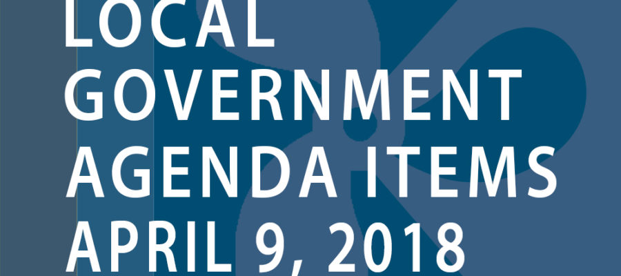 SWFMIA local government agenda items for the week of April 9, 2018