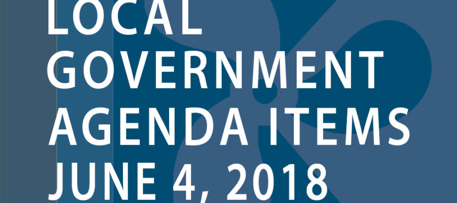 SWFMIA local government agenda items for the week of June 4, 2018