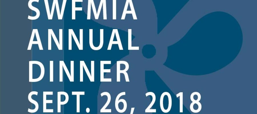 SWFMIA Annual Dinner Invitation 2018