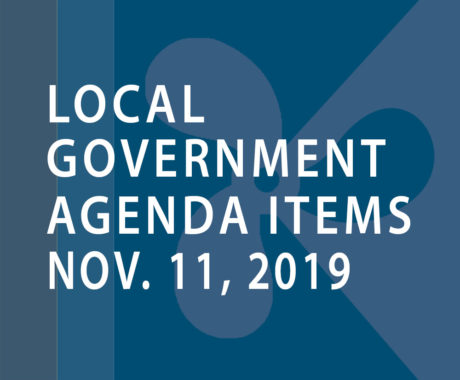 SWFMIA local government agenda items for the week of November 11, 2019