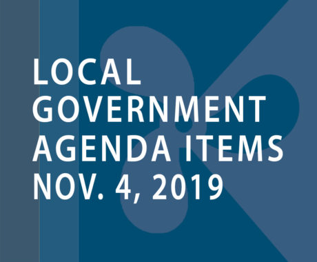 SWFMIA local government agenda items for the week of November 4, 2019
