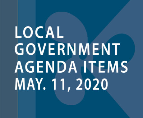 SWFMIA local government agenda items for the week of May 11, 2020