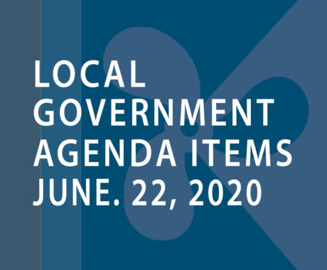 SWFMIA local government agenda items for the week of June 22, 2020